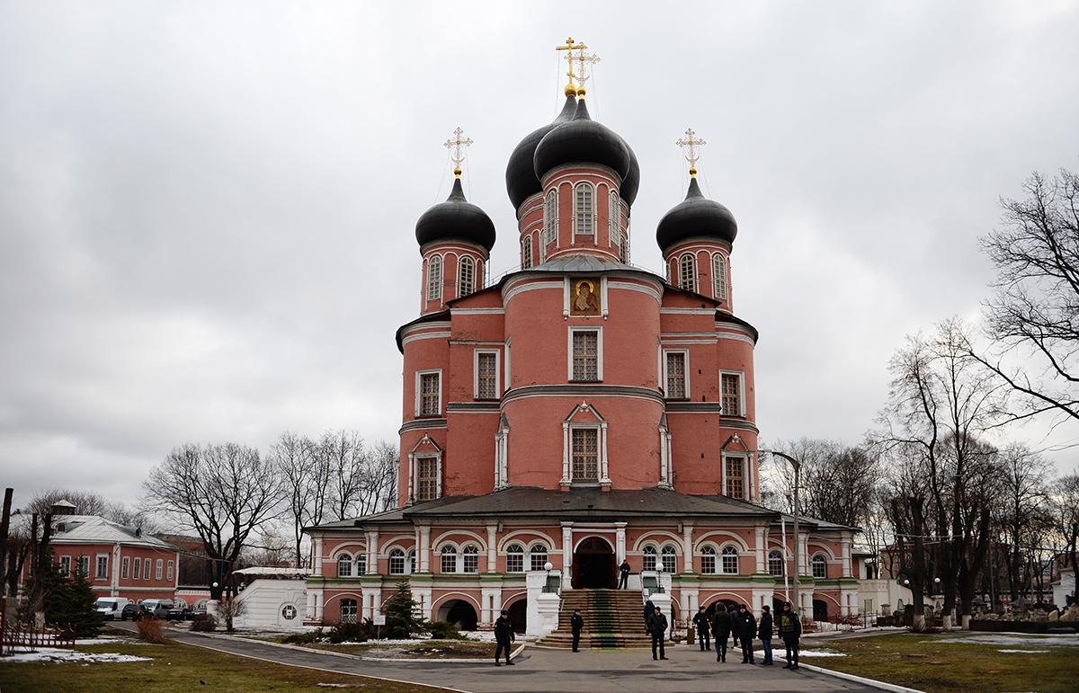 Патриаршее служение в четверг первой седмицы великого поста в Донском ставропигиальном монастыре