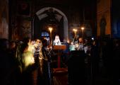 Проповедь Святейшего Патриарха Кирилла после великого повечерия в среду первой седмицы Великого поста в Саввино-Сторожевском монастыре