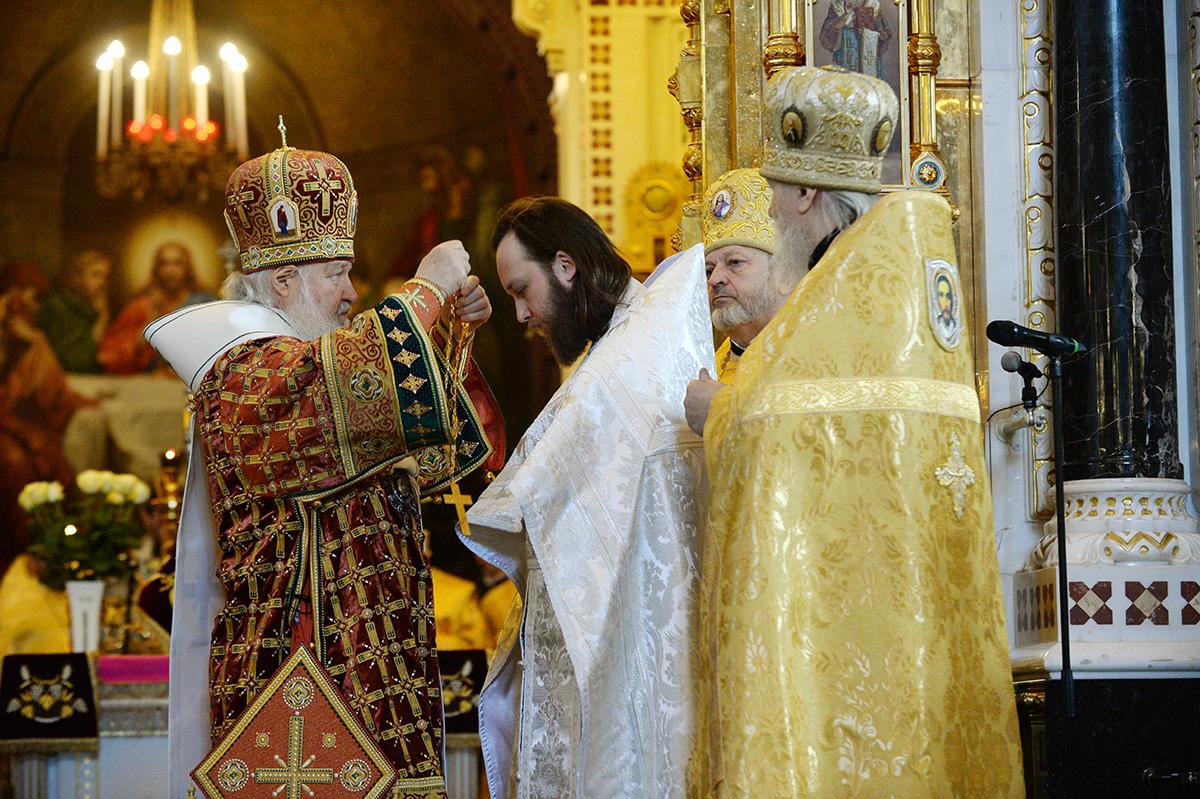 Патриаршее служение в Неделю Торжества Православия в Храме Христа Спасителя г. Москвы