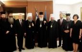 Блаженнейший митрополит Киевский и всея Украины Онуфрий посетил Грецию