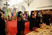 Предстоятель Русской Церкви возглавил наречение архимандрита Иоанна (Сичевского) во епископа Елгавского, викария Рижской епархии