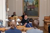 Выпуск курса церковных чтецов состоялся в Александро-Невской лавре
