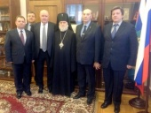 Архиепископ Верейский Евгениий награжден почетным знаком Министерства иностранных дел РФ