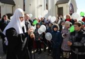 Святейший Патриарх Кирилл: «Потребности Москвы в духовном окормлении колоссальны»