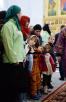 Патриаршее служение в Неделю 3-ю Великого поста. Освящение Покровского храма в районе Орехово-Борисове Южном г. Москвы. Божественная литургия