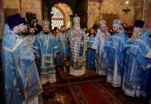 Проповедь Святейшего Патриарха Кирилла в праздник Благовещения Пресвятой Богородицы после Литургии в Благовещенском соборе Московского Кремля