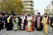 Тысячи верующих встречали мощи святителя Луки (Войно-Ясенецкого) в греческом городе Патры