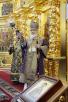 Патриаршее служение в Неделю 4-ю Великого поста. Освящение храма Иверской иконы Божией Матери в Очаково-Матвеевском г. Москвы