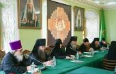 В Троице-Сергиевой лавре состоялось очередное совещание игуменов и игумений ставропигиальных монастырей Русской Православной Церкви