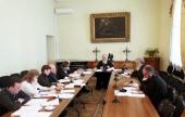 Состоялось очередное заседание комиссии Межсоборного присутствия по вопросам организации церковной социальной деятельности и благотворительности