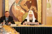 Слово Святейшего Патриарха Кирилла на заседании Попечительского совета Свято-Троицкой Сергиевой лавры и Московской духовной академии