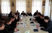Патриарший экзарх всея Беларуси возглавил очередное заседание комиссии Межсоборного присутствия по организации церковной миссии