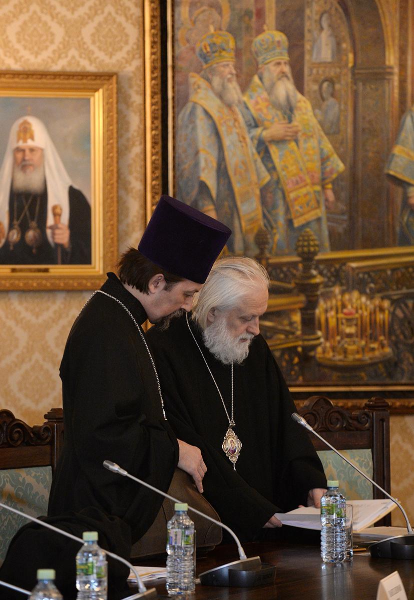 Заседание Высшего Церковного Совета 13 апреля 2016 года