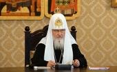 Слово Святейшего Патриарха Кирилла на открытии заседания Высшего Церковного Совета 13 апреля 2016 года