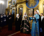 Слово Святейшего Патриарха Кирилла после богослужения в канун субботы 5-й седмицы Великого поста