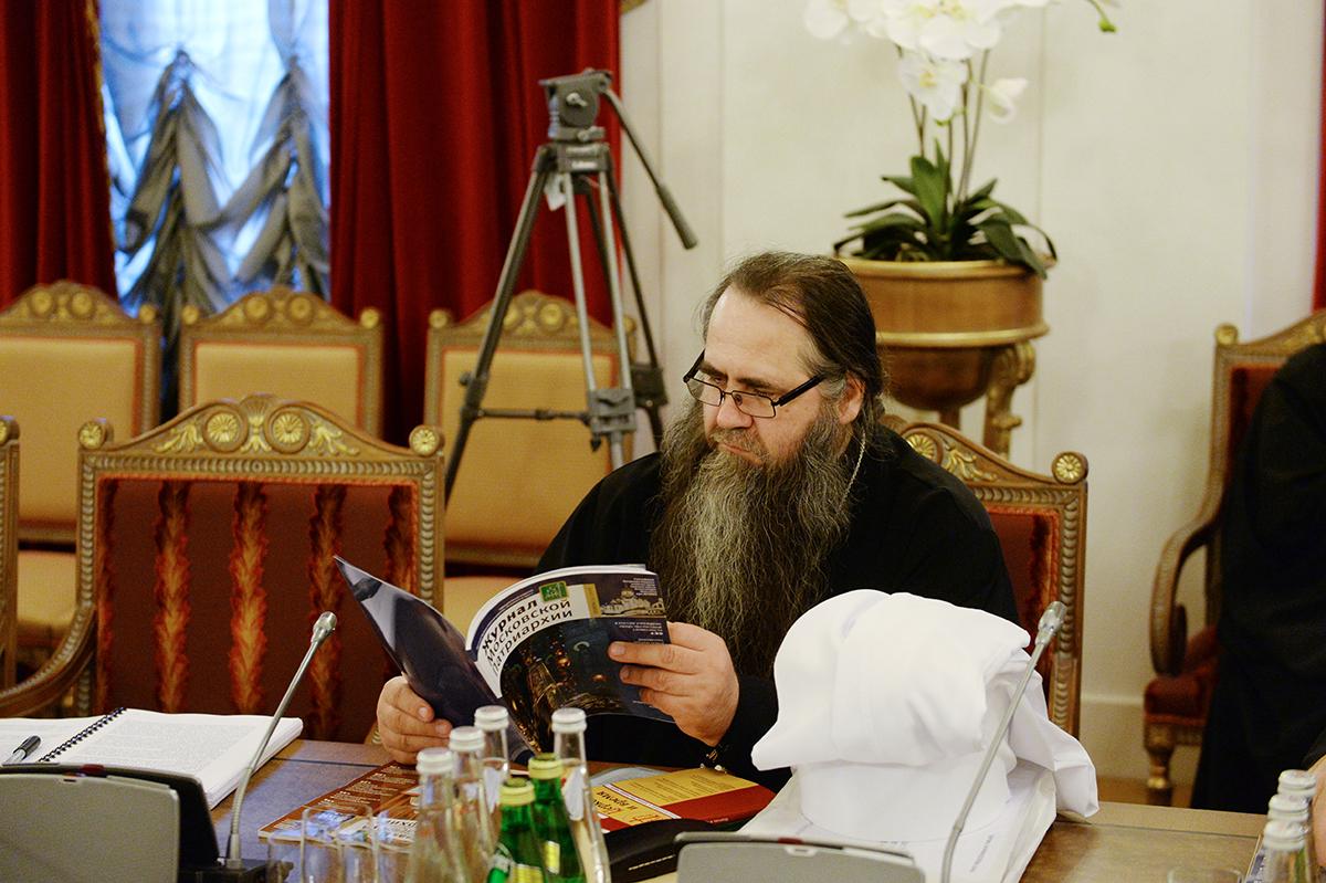 Заседание Священного Синода от 16 апреля 2016 года