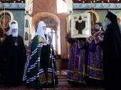 В Александро-Свирский монастырь возвращена старинная чудотворная икона прп. Александра Свирского