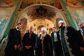 В Благовещенском соборе Казани состоялось общение главы Татарстанской митрополии с премьер-министром Тюрингии