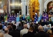 Патриаршая проповедь в праздник в праздник Входа Господня в Иерусалим после Литургии в Храме Христа Спасителя г. Москвы