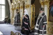 Проповедь Святейшего Патриарха Кирилла в Великий Понедельник после Литургии в Богородице-Рождественском монастыре