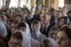 Патриаршее служение в Великий Понедельник в Богородице-Рождественском ставропигиальном монастыре