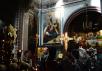 Патриаршее служение в Великую Пятницу в Храме Христа Спасителя. Вечерня с выносом Плащаницы