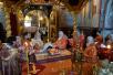 Патриаршее служение во вторник Светлой седмицы в Троице-Сергиевой лавре. Литургия и хиротония архимандрита Арсения (Перевалова) во епископа Юрьевского