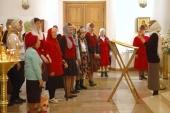 В Саратове совершена первая Литургия с сурдопереводом