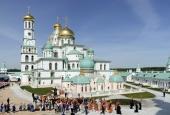 Предстоятель Русской Церкви освятил Воскресенский собор Ново-Иерусалимского ставропигиального монастыря