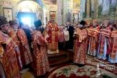 Митрополит Киевский и всея Украины Онуфрий возглавил торжества по случаю 20-летия образования Владимир-Волынской епархии