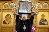 В Казахстан принесена чудотворная Казанская икона Божией Матери