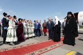 Святейший Патриарх Московский и всея Руси Кирилл прибыл в Нальчик