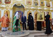 Слово Святейшего Патриарха Кирилла в Неделю 3-ю по Пасхе после Литургии в соборе святой равноапостольной Марии Магдалины в Нальчике