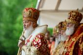 Слово Святейшего Патриарха Кирилла после Литургии на Бутовском полигоне