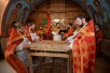 Патриаршее служение в Неделю 4-ю по Пасхе. Освящение храма святого мученика Виктора в г. Котельники Московской области