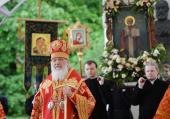 Слово Святейшего Патриарха Кирилла в день памяти святителя Николая Чудотворца после Литургии в Николо-Угрешском монастыре