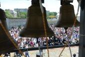 Первый Международный фестиваль колокольного звона прошел в Бишкекской епархии