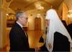 Прием по случаю празднования Дня славянской письменности и тезоименитства Святейшего Патриарха Кирилла