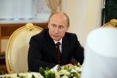 Поздравление Президента РФ В.В. Путина Святейшему Патриарху Кириллу с днем тезоименитства