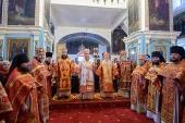 Торжества, посвященные 25-летию учреждения Уральской епархии, прошли в Казахстане