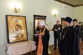 Митрополит Волоколамский Иларион посетил Военный университет