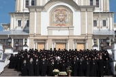 Состоялись торжества по случаю 70-летия настоятельницы Серафимо-Дивеевского монастыря игумении Сергии (Конковой)
