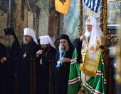 Слово Святішого Патріарха Кирила в Успенському соборі Протата