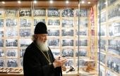 Визит Святейшего Патриарха Кирилла в Грецию. Посещение музея Русского на Афоне Пантелеимонова монастыря