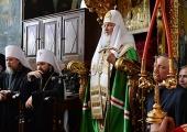 Слово Святішого Патріарха Кирила після молебню в Руському на Афоні Пантелеїмоновому монастирі