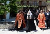 27-29 травня Святіший Патріарх Кирил здійснив паломництво на Святу Гору Афон