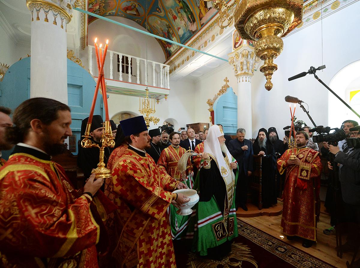Паломнический визит Владимира Путина на Афон Прямая трансляция
