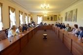 Митрополит Волоколамский Иларион встретился с членами Всемирного координационного совета российских соотечественников