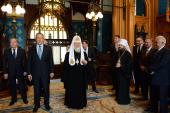 Святейший Патриарх Кирилл присутствовал на Пасхальном приеме в Министерстве иностранных дел Российской Федерации