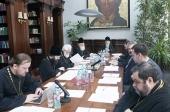 В Межсоборном присутствии продолжается работа по нормированию правонарушений клириков и практик применения канонических прещений по отношению к ним
